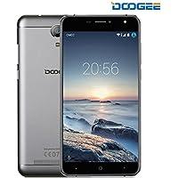 Smartphone Libre, DOOGEE X7S Teléfonos Móviles Libres Baratos - Android 6.0 4G Móvil Libre - MTK6737 Quad Core 1.2GHz - 6.0 Pulgadas HD IPS Pantalla VR Soportado - 8 MP Cámara - 1GB RAM + 16GB ROM - Batería de 3700mAh, Gesto Inteligente, OTG, OTA - Silver
