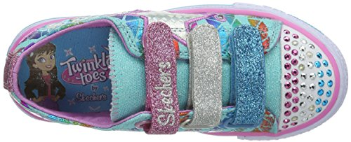 Skechers ShufflesClassy Sassy, Mädchen Sneakers Blau (AQMT)