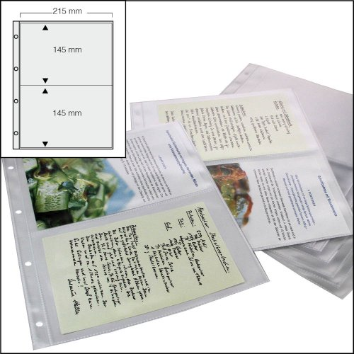 50-x-SAFE-KOCHREZEPTE-BACKREZEPTE-SAMMELHLLEN-DIN-A4-NR-5480-50-MIT-2-TASCHEN-DIN-A5-215-X-148-MM-PLATZ-FR-BIS-ZU-200-REZEPTE-UNISERSAL-LOCHUNG-DOKUMENTENECHT-GLASKLAR-TRANSPARENT-WEICHMACHERFREI