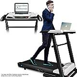 Sportstech innovatives 2in1 Profi Laufband inkl. höhenverstellbarer Schreibtisch DFT500