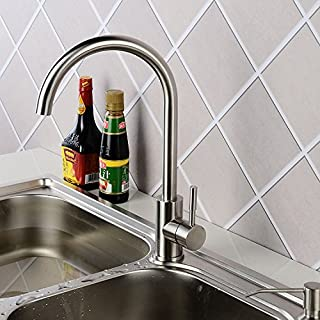Surnoy 304 won a three-way all-net stainless steel faucet stainless steel kitchen faucet stainless steel basin faucet