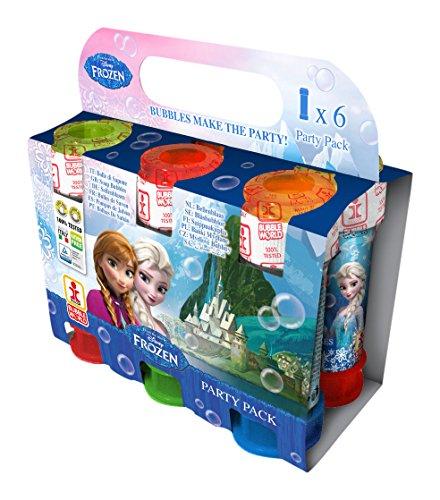 000–Frozen–Party Pack 6Tube Blase-Wissen–60ml (Blasen Party Pack)