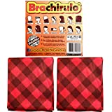 Pack de 2 unidades de Brachirulo (Braga polar) con los colores del cachirulo para llevar de muchas maneras diferentes.