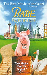 Babe: Pig in the City [VHS] [Import USA]