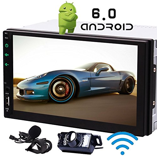 Android 7.1 Stereos 7-Zoll-Touch-Screen-Doulbe din GPS Car Head Unit Octa-Core Autoradio Audio Receiver in Dash 1080P Video Sat Navi WiFi Bluetooth RDS SD/USB / 4G / 3G / OBD2-Top-Autoradio - Autoradio-touch Android Screen