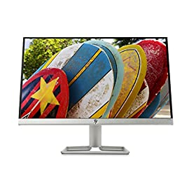 "HP 22FW Monitor 22"", IPS FHD, 1920 x 1080 1080p, 5 ms, AMD FreeSync, Inclinabile, Argento"