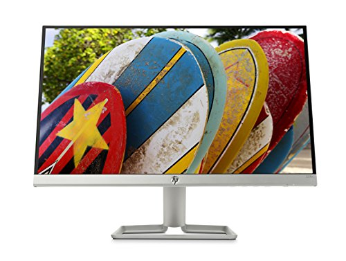 HP 22FW Monitor 22', IPS FHD, 1920 x 1080 1080p, 5 ms, AMD FreeSync, Inclinabile, Argento