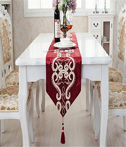 80cm Tischläufer Hochzeit Tischband ,abwaschbar (Farbe wählbar),Meterware,Tischwäsche,stoffähnliches Vlies, Party, Catering , Vereinsfeier ,Geburtstag ()