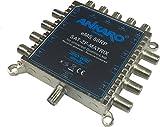 ANKARO Multischalter 5/8 - eMS 58RP - stromsparend mit ZERO-Watt Standby-Funktion