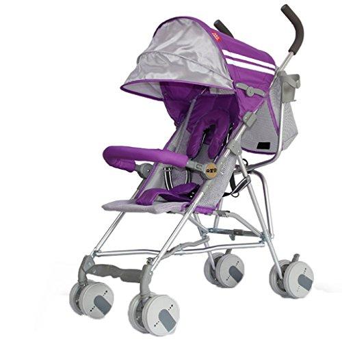 Peixia Department Store Kinderwagen Ultraleichter Kinderwagen Klappwagen Geeignet für 6-36 Monate Baby Buggys Kinderwagen (Farbe : 3#)