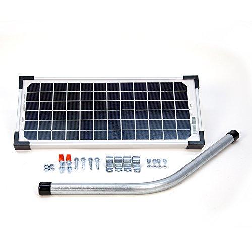 5Watt Solar Panel Kit (FM121) für Mighty Mule Automatische Tor Öffner, FM123 (Kit Solarpanel 10w)