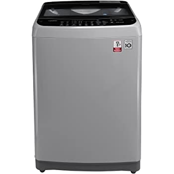 LG 6.5 kg Fully-Automatic Top Loading Washing Machine (T7577NEDLJ, Middle Free Silver)