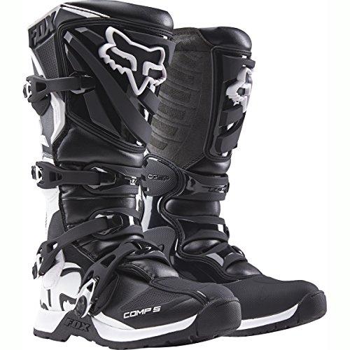 FOX 2016 Motocross/ Enduro Stiefel COMP 5 Frauen - schwarz weiß: Größe Stiefel: 37,5 EU / 6 US