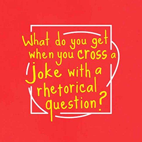 TEXLAB - Rhetorical Joke - Langarm T-Shirt Weiß