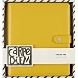 Simple Stories carpe Diem Marigold Posh planner cofanetto, giallo, A5