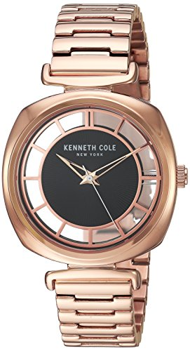 Kenneth Cole New York Women's Analog Quartz Watch with Stainless-Steel Strap KC15108001