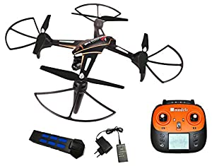 DF Models Sky Watcher Race XL RtF FPV Quadcopter with Movable Camera by df models