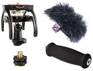 Rycote 046005 Kit Audio pour Marantz PMD 661, Suspension, Bonnette Anti-vent
