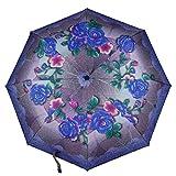 LYJZH Regenschirm, Winddichter, Stabiler Und Kompakter Großschirm, Schnell Trocken, Umbrella 8 Knochen Automatikschirm dreifach gefaltete Sonnenschirm Farbe8 98cm