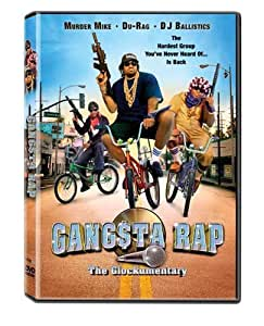 Gangsta Rap: The Glockumentary [DVD] [Region 1] [US Import] [NTSC]