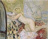 Das Museum Outlet–Nude neben dem Bett, gespannte Leinwand Galerie verpackt. 50,8x 71,1cm