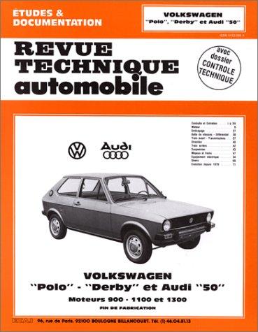 Revue Technique Automobile, numéro 363.2 Volkswagon Polo «Derby» et Audi «50»
