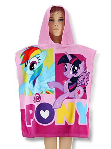 PONCHO MY LITTLE PONY ACCAPPATOIO BAMBINA ESTATE 2015