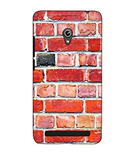 Fuson Designer Back Case Cover for Asus Zenfone 5 A501CG (Stone Wall Theme)