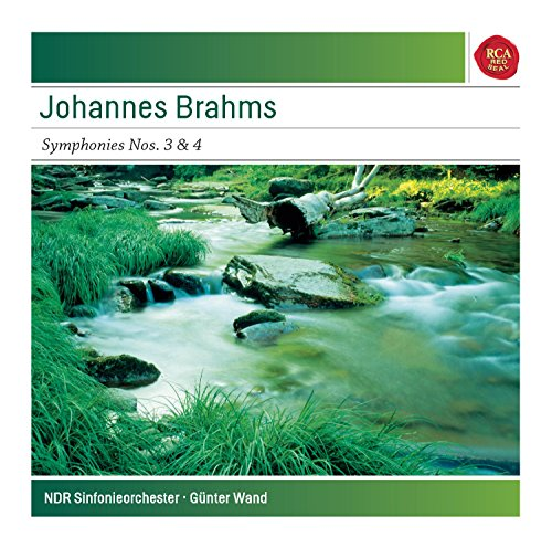 Brahms: Symphonies No. 3 in F Major, Op. 90 & No. 4 in E Minor, Op. 98 - Sony Classical Masters - 4in Wand