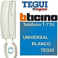 Legrand/Bticino–Téléphone t-71u universel Blanc