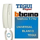 Tegui Porteros 374240 - Tfno. T-71U Universal Blanco