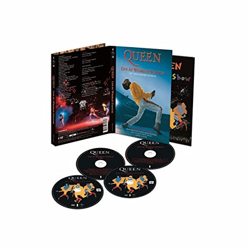 Foto de Queen: Live At Wembley Stadium -  - Edición 25 Aniversario (2 DVD + 2 CD) [Reino Unido]