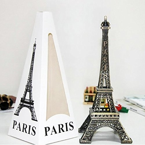 Kolossalz (Big 10 Inch Unbreakable) Full Metal Eiffel tower showpiece || B'day Anniversary Gift
