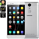 Lenovo K5 Note 3+32GB 4G LTE Dual Sim Android 5.1 Octa Core 1.8GHz 5.5 inch FHD 8+13MP Plata