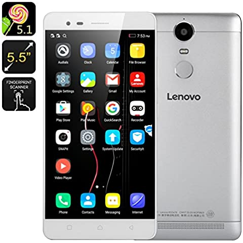 Lenovo K5 Note 3+32GB 4G LTE Dual Sim Android 5.1 Octa Core 1.8GHz 5.5 inch FHD 8+13MP Plata