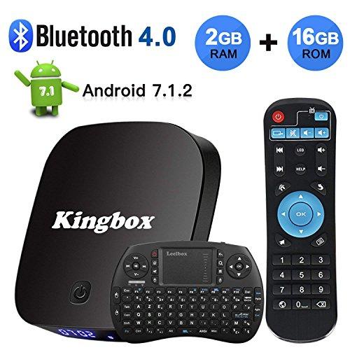 2018 Kingbox K2 Android 7 1 TV Box BT4 0/2GB+16GB Support 4K