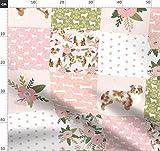 Australian Shepherd, Hund, Hunde, Quilt, Quiltoptik, Kinderzimmer Stoffe - Individuell Bedruckt von Spoonflower - Design von Petfriendly Gedruckt auf Minky