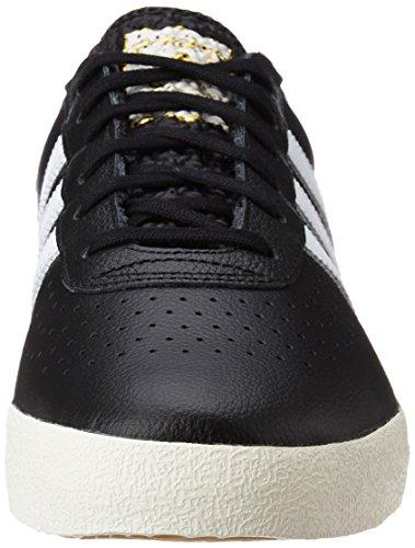adidas 350 core black/off white/gold metallic