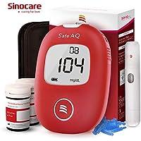 Glucosa en sangre kit de control de la diabetes kit de prueba de azúcar en sangre kit Codefree Pack 50 tiras para diabéticos-en mg/dL