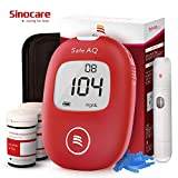 Diabete test kit glucosio nel sangue kit di test del sangue kit di monitoraggio dello zucchero con 50 strisce Codefree 50 lance Painfree dispositivo di lancio per i diabetici del Regno Unito-in mg/dl