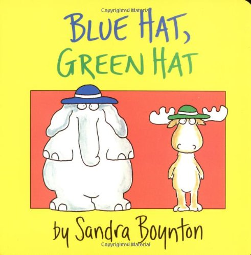 Blue Hat, Green Hat (Boynton on (Blues Hat)
