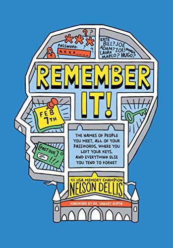 Remember It!: The Names of People You Meet, All of Your Passwords, Where You Left Your Keys, and Everything Else You Tend to Forget (English Edition)