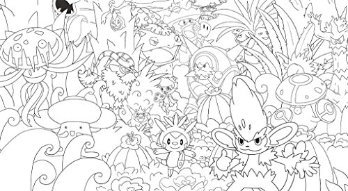 Image of Official Pokémon Creative Colouring
