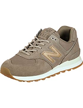 New Balance Damen WL574C Glitter Pack Sneaker,