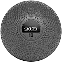 Sklz Unisex's Performance Medicine Ball-Grey, 12 lb