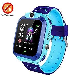 FOONEE Reloj GPS Tracker para niños, Reloj Inteligente Teléfono para niños de 3 a 12 años Niños pequeños Niños Niñas, 1.44 Pulgadas Pantalla táctil HD Llamada bidireccional Voz SOS Juego Smartwatch 3