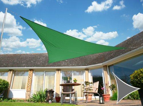 Kookaburra Vert 5.0 m Triangle Voile d'ombrage
