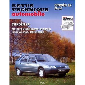 Études & documentation de la Revue technique automobile, N° 548 et 584 : Citroën ZX Diesel et turbo Diesel
