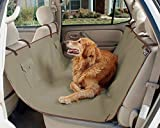#3: SRI Pet Car Seat Cover with Nonslip Backing, Waterproof & Machine Washable Backseat Cover for Cars Trucks and SUVs