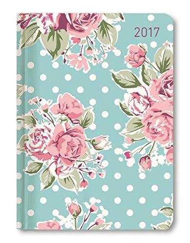 Ladytimer Roses 2017 - Taschenplaner / Taschenkalender A6 - Weekly - 192 Seiten